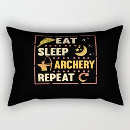 Archery Arrow Bow Sport Marksman Gift Rectangular Pillow