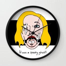 Spooky Ghost! Wall Clock