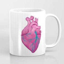 Hearts 01 - Human Heart (Transparent) Coffee Mug