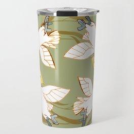Cockatoo Angels (Natural green) Travel Mug