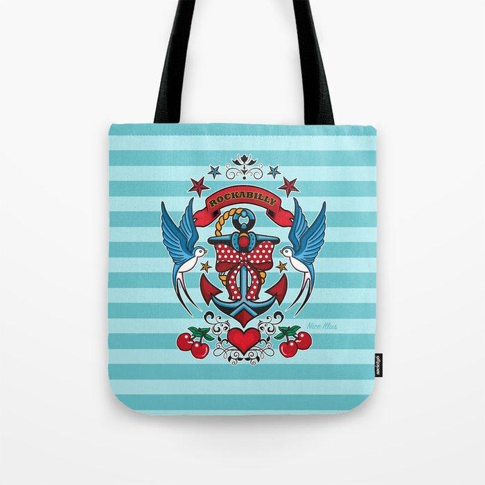Rockabilly Style No.1 Tote Bag