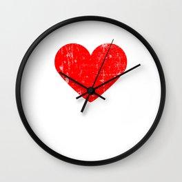 Heart KENT | Love KENT Wall Clock