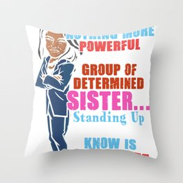 Inspirational Standing Up for What is Right Throw Pillow