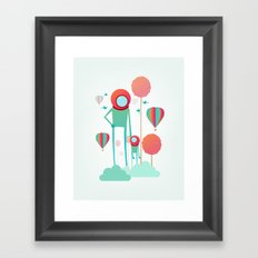 Cosmic Care Framed Art Print