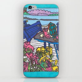 Beach Chairs iPhone Skin