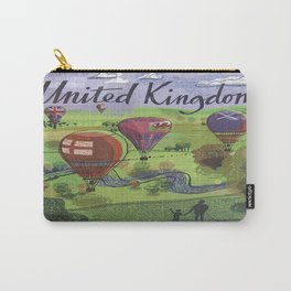 Vintage poster - United Kingdom Carry-All Pouch