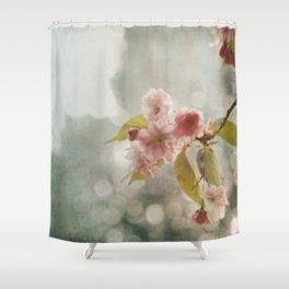 Twilight in the Garden Shower Curtain