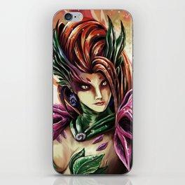 Portait Zyra iPhone Skin