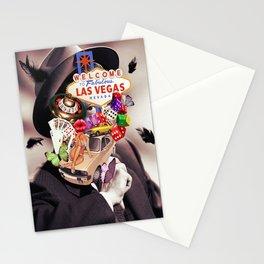 Las Vegas Maniac Stationery Cards