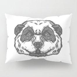 Brooding Panda Pillow Sham