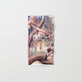Warrior woman Hand & Bath Towel