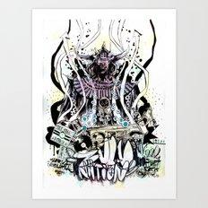 PLANET ROCK  Art Print