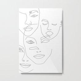 Different beauty Metal Print