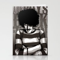 phil jones Stationery Cards featuring Phil Lynott by Denis O'Sullivan