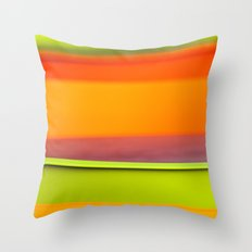 Chair Colors Throw Pillow