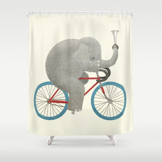 Ride (colour option) Shower Curtain
