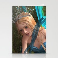 fairy Stationery Cards featuring Fairy by Design Windmill