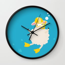 Sheep Series [SS 04] Wall Clock