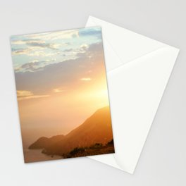 Sunset at Marin Headlands Stationery Cards