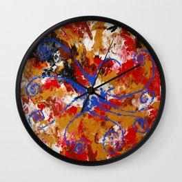 Murky Reef Wall Clock