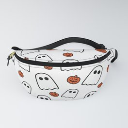 Halloween Ghosts And Pumpkins Fanny Pack