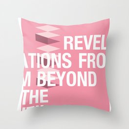 IGNS poster design Throw Pillow