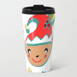 cute gnome Travel Mug