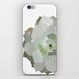 Watercolor Succulent iPhone Skin