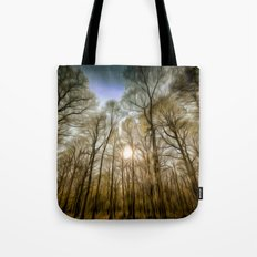 The Forest Sunset Art Tote Bag