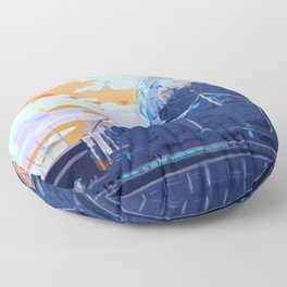 Science & Sky (Beautiful but Different) Floor Pillow