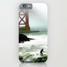 Surfing SF Bay iPhone 6s Slim Case
