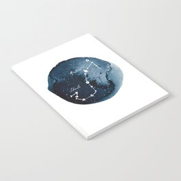 Scorpius Zodiac Constellation Notebook