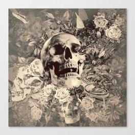 The Final Curtain (Sepia) Canvas Print