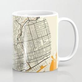 Toronto Map Moon Coffee Mug