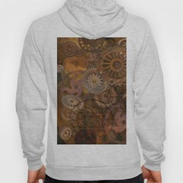 Changing Gear - Steampunk Gears & Cogs Hoody