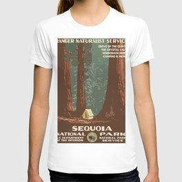Vintage poster - Sequoia National ParkX T-shirt