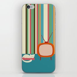 sleeping cat iPhone Skin