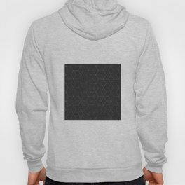 Faded Black and White Cubed Abstract Hoody