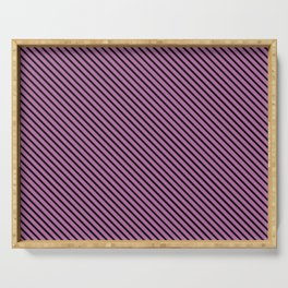 Bodacious and Black Stripe Serving Tray