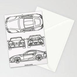 GR Supra Mk 5 Stationery Cards