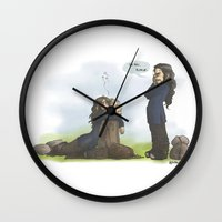 kili Wall Clocks featuring Kili please... by AlyTheKitten
