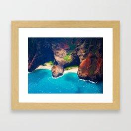 Kauai - Napali Coast Framed Art Print