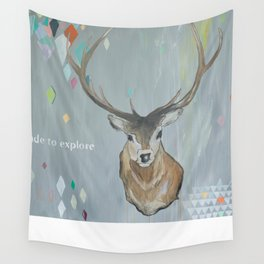 Made to Explore Wall Tapestry