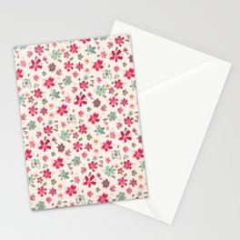 flowery spring Stationery Cards