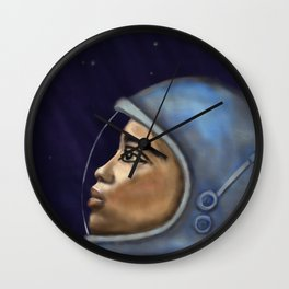 Looking into the Unknown Wall Clock
