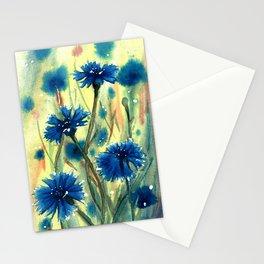 Cornflowers Stationery Cards