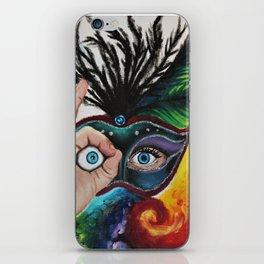 Psychedelic Mardi Gras iPhone Skin