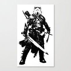 Fantasy Trooper Canvas Print