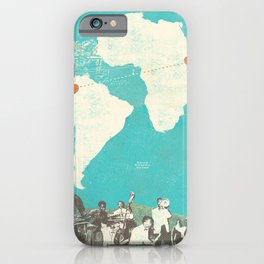 SOUTH AMERICAN + AFRICAN MUSIC iPhone Case