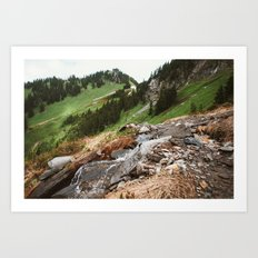 The American Alps Art Print